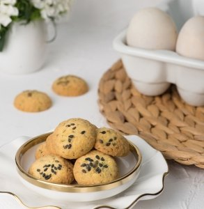Salted Egg Cookies