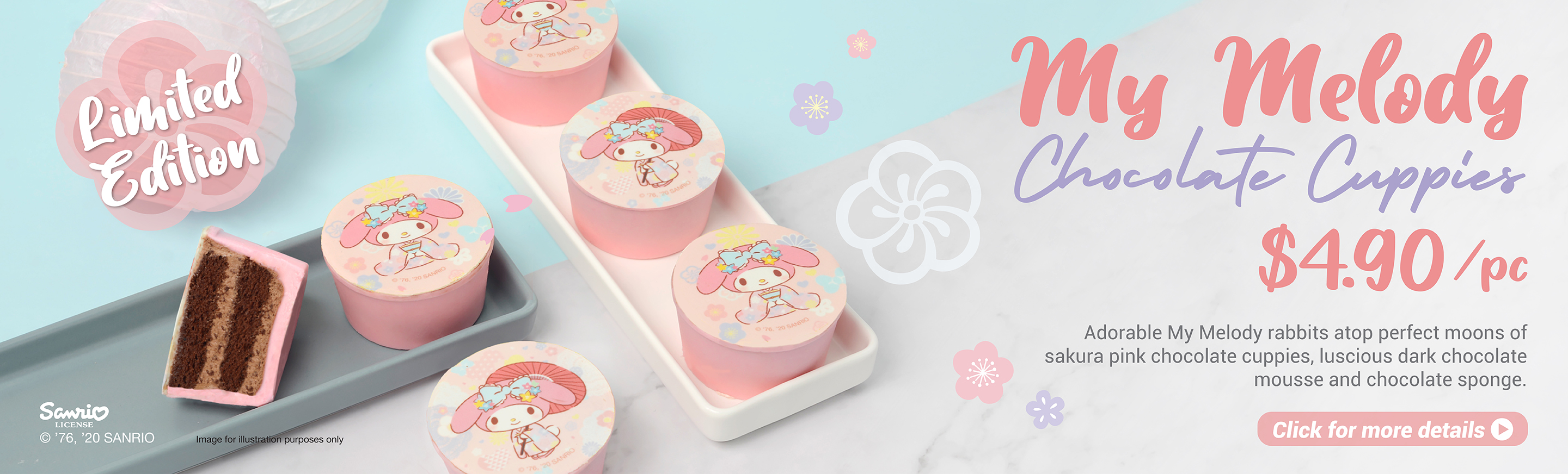 My Melody Chocolate Cuppies